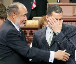 David Paterson is sworn in as New York State Governor