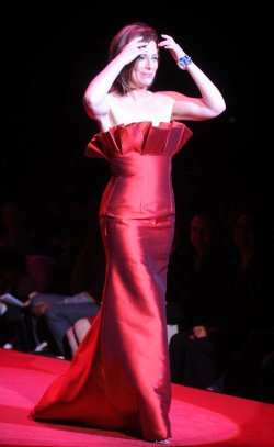 Heart Truth Red Dress Collection shown in New York