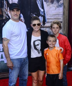 "Natalie Maines attends ""The Lone Ranger"" premiere in Anaheim, California"