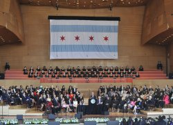 Emanuel speaks after being sworn in as Mayor of Chicago