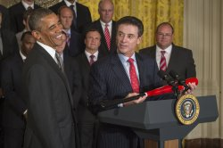 Obama Honors Louisville Cardinals at the White House