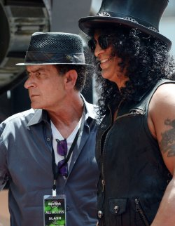 Slash receives star on the Hollywood Walk of Fame in Los Angeles