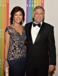 Les Moonves and wife Julie Chenl arrive for Kennedy Center Honors Gala in Washington DC