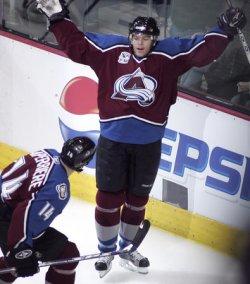 NHL PLAYOFFS DALLAS STARS VS COLORADO AVALANCHE