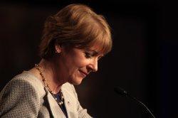 Democratic candidate for U.S. Senate seat Martha Coakley.