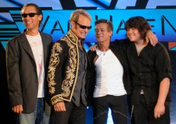 VAN HALEN ANNOUNCES REUNION AND 25-CITY TOUR IN LOS ANGELES