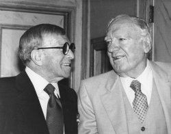 George Burns and Pat O?Brien get together while in their 80s
