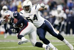 AFC Championship San Diego Chargers vs New England Patriots