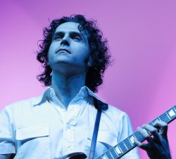 Dweezil Zappa performs in concert in Paris