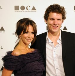 Jennifer Love Hewitt and Alex Beh arrive at the Museum of Contemporary Art annual gala in Los Angeles