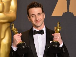 Justin Hurwitz wins Oscars at the 89th annual Academy Awards in Hollywood