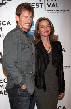 """Denis Leary and wife arrive for the Tribecal Film Festival Premiere of """"The Union"""" in New York"""