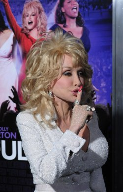 "Dolly Parton attends the ""Joyful Noise"" premiere in Los Angeles"