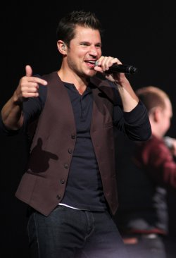 98 Degrees performs in concert in Sunrise, Florida