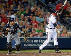 The Atlanta Braves play the Milwaukee Brewers