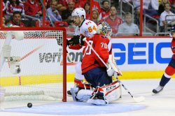 Washington Capitals vs Calgary Flames in Washington
