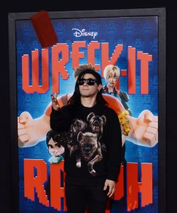 "Skrillex attends the ""Wreck-It Ralph"" premiere in Los Angeles"