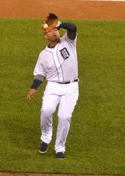 ALCS New York Yankees at Detroit Tigers Game Three
