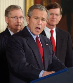 BUSH SIGNS CLASS-ACTION FAIRNESS ACT OF 2005