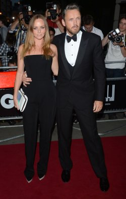 "Stella McCartney and Alasdhair Willis attend the ""GQ Awards"" in London"