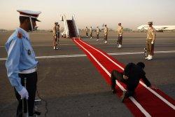 Russian President Vladimir Putin Arrives Tehran