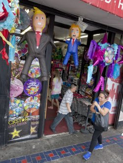 Trump piñata popular in San Francisco