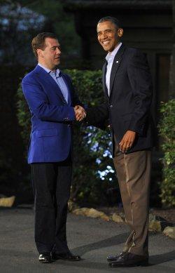 Obama Attends G8 Summit At Camp David