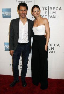 "Eric McCormack and Jennifer Morrison arrive for the Tribeca Film Festival Premiere of ""Knife Fight"" in New York"