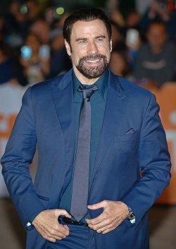 John Travolta attends 'The Forger' world premiere at the Toronto International Film Festival