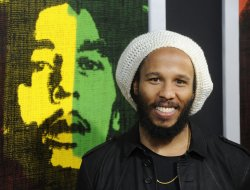 "Ziggy Marley attend the premiere of the film ""Marley"" in Los Angeles"