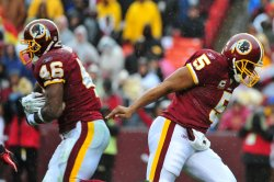 Redskins' Ryan Torain carries the ball in Maryland