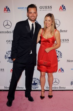 Mira Sorvino and Christpher Backus attend the 32nd anniversary Carousel of Hope Ball in Beverly Hills