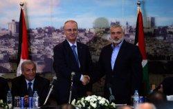 Palestinian Prime Minister Rami Hamdallah Crossed Into Gaza