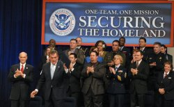 Department of Homeland Security marks 5th anniversary in Washington