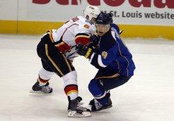 Calgary Flames Mark Giordano St. Louis Blues Paul Kariya