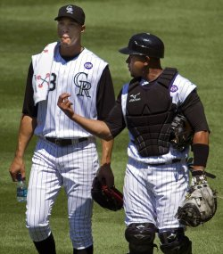 Rockies Pitcher Jimenez Seeks 18th Win of the Season in Denver
