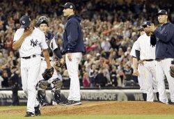 New York Yankees Mariano Rivera plays his last game at Yankee Stadium