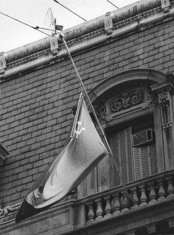 Yuri Andropov's death announced at Soviet Embassy