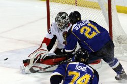 Ottawa Senators vs St. Louis Blues hockey