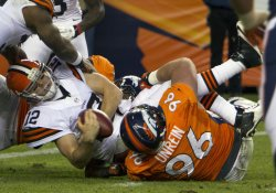 NFL Cleaveland Browns vs Denver Broncos in Denver