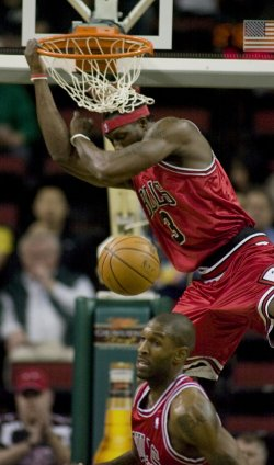 Chicago Bulls vs Seattle SuperSonics