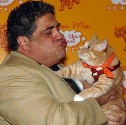 VINCENT PASTORE ATTENDS MEOW MIX ACADEMY SCHOOL PARTY IN NEW YORK