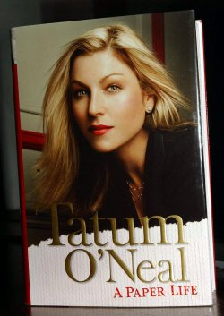 ACTRESS TATUM O NEAL WRITES HER AUTOBIOGRAPHY