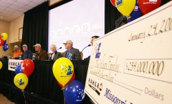 ST. LOUIS FAMILY TO SHARE MISSOURI'S LARGEST LOTTERY JACKPOT
