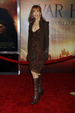 "Tina Louise arrives for the ""War Horse"" Premiere in New York"