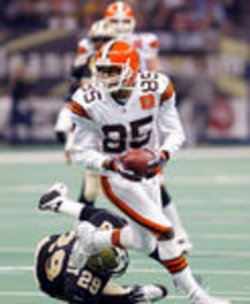 Cleveland Browns at New Orleans Saints NFL Football