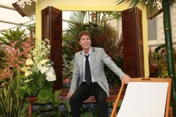 Sir Cliff Richard at the 2012 Chelsea Flower Show