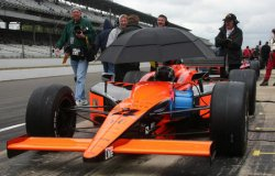 RAIN WASHES OUT INDY 500 QUALIFICATIONS