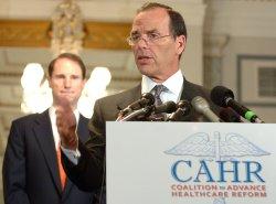 CONGRESSMEN, CEOS BACK HEALTH CARE REFORM IN WASHINGTON