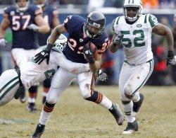 Bears Forte Breaks Away from Jets Defenders